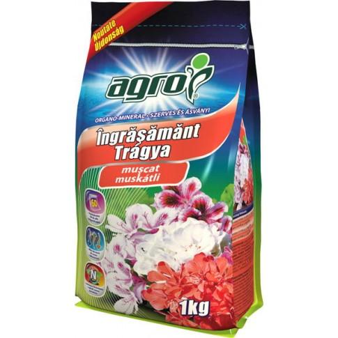 Ingrasamant pentru muscate Agro CS, granule, 1kg