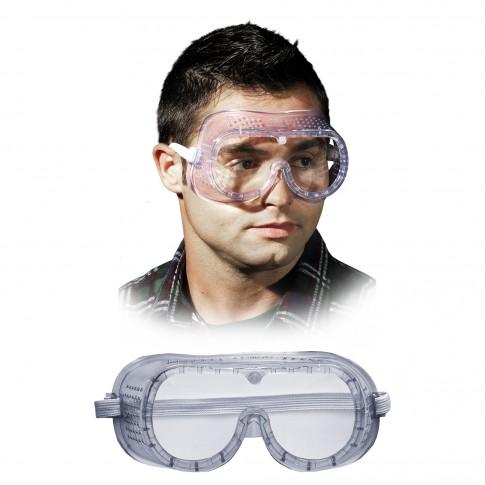 Ochelari de protectie panoramici Marvel 2660 eco, cu aerisire directa, transparenti