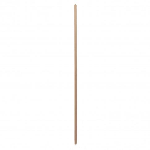 Coada pentru grebla sau matura industriala, lemn, 140 cm