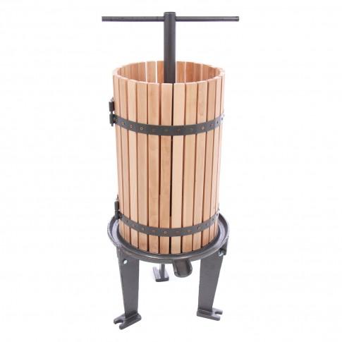 Presa pentru struguri, manuala, 43 litri