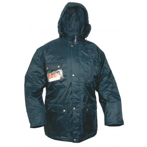 Haina de protectie Gantex ES32 Vermont, fas, impermeabila, cu gluga, bleumarin, marimea M