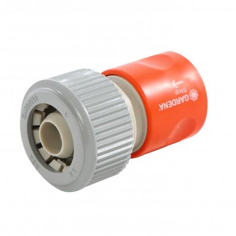 Conector furtun Gardena profi 02814-20, cu aquastop, 3/4 inch