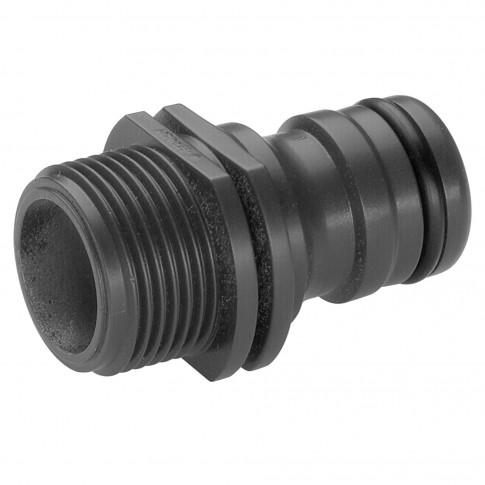 Conector robinet Gardena Profi 02821-20, filet exterior, plastic, 26.5 mm