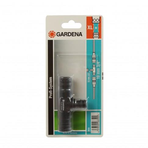 Conector T Gardena Profi 02835-20, plastic