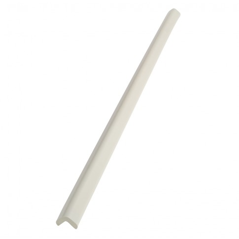 Protectie colt din spuma de cauciuc AC-13, gri deschis, 90 cm, grosime 9 mm
