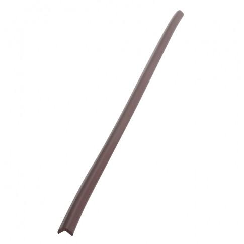 Protectie colt din spuma de cauciuc AC-54, subtire, maro, 90 cm, grosime 6 mm