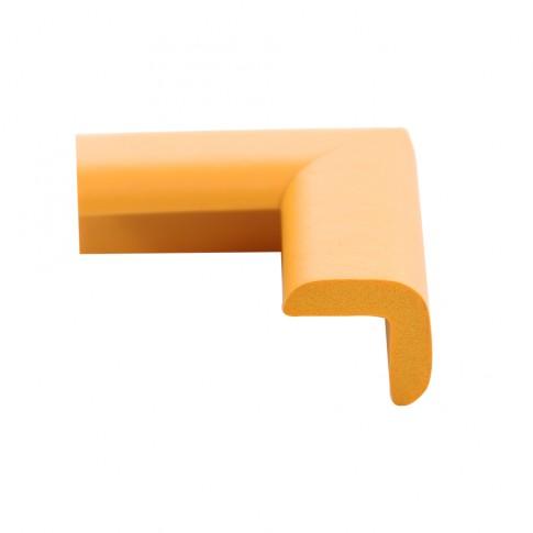 Coltar protector din spuma de cauciuc AC-6, subtire, galben, grosime 6 mm
