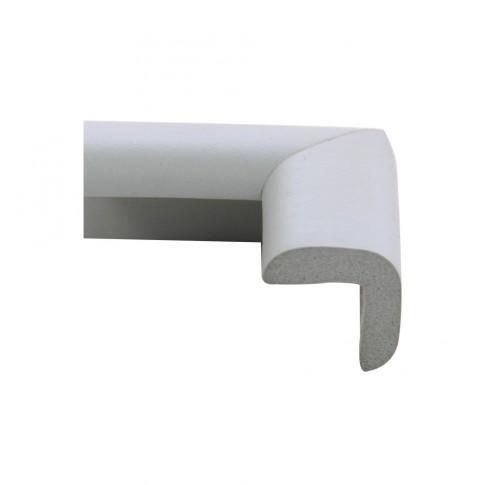 Coltar protector din spuma de cauciuc AC-69, subtire, gri deschis, grosime 6 mm