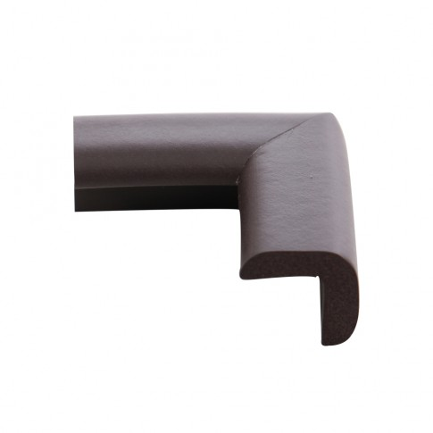 Coltar protector din spuma de cauciuc AC-70, subtire, maro, grosime 6 mm
