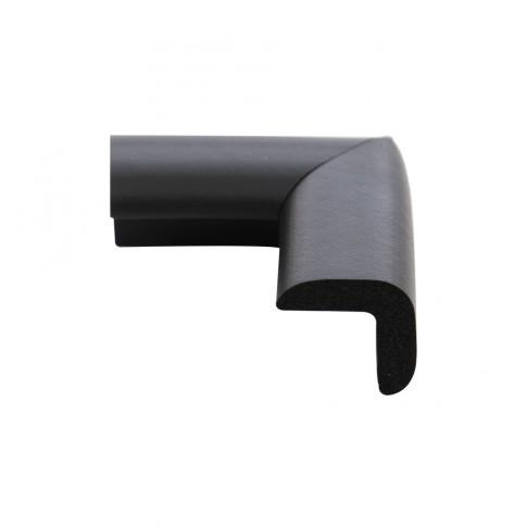 Coltar protector din spuma de cauciuc AC-72, subtire, negru, grosime 6 mm