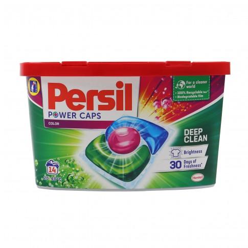 Detergent de rufe, capsule, Persil Duo-Caps Color, 14 capsule, 420 gr