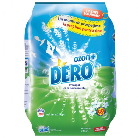 Detergent rufe, automat, Dero Ozon+, 20 kg