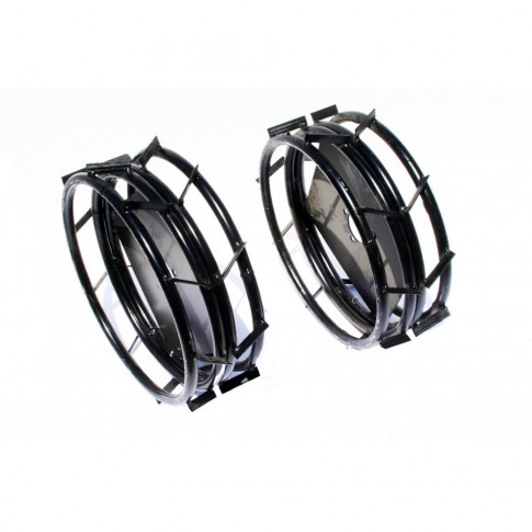 Roti metalice pentru motocultor O-Mac F/M 750 / 100 / 1000, d 35 cm (1 bucata = 1 set 2 roti)