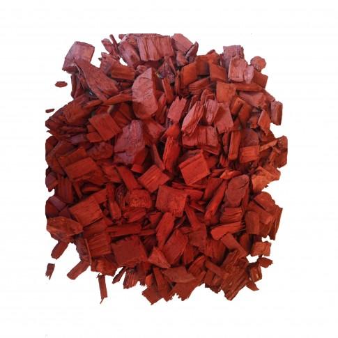 Scoarta decorativa, rosu, 60 L