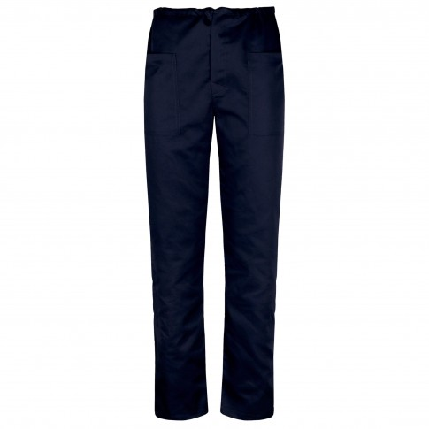 Pantalon Clasic, bumbac + poliester, bleumarin, marimea 56