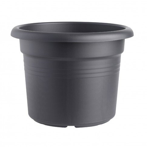 Ghiveci din plastic Green Basic, negru D 40 cm