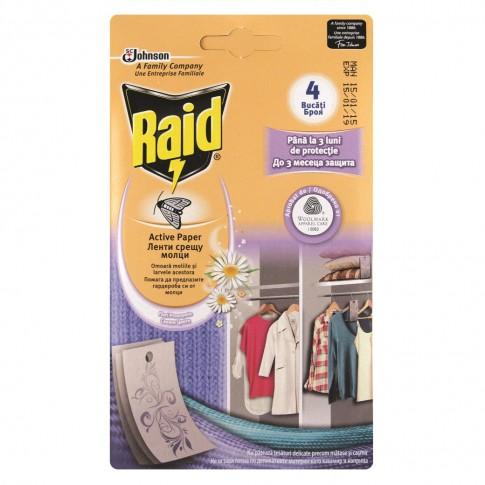 Raid active paper 4 buc