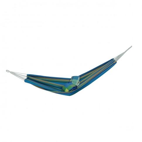 Hamac D60002, albastru cu dungi, 100 x 200 cm