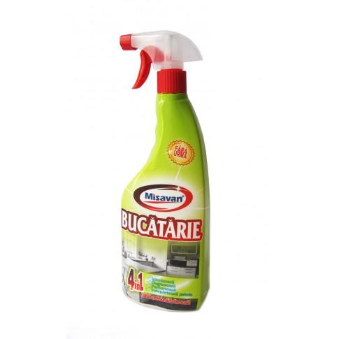 Detergent lichid pentru bucatarie Misavan 4 in 1, 750 ml