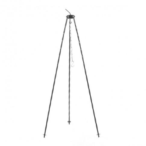 Trepied pentru ceaun Landmann, cu lant inclus, H 100 cm