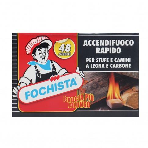 Cuburi pentru aprins focul Fochista, 48 buc
