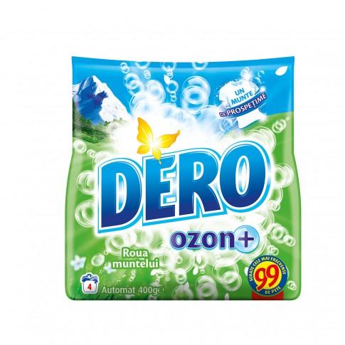 Detergent rufe, automat, Dero Ozon+ Roua Muntelui, 400 g