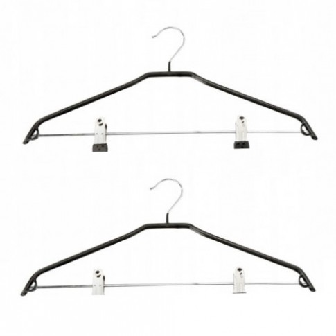 Umerase haine Coronet, metal, cu cleme, 41 cm, set 2 bucati