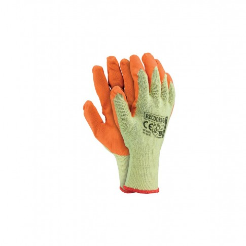 Manusi de protectie Marvel Recodrag Pachet, din tricot + latex, marimea XL