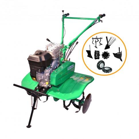 Motocultor pe benzina Verdina HSD1G80 950, 6.5 CP, 3 viteze + accesorii