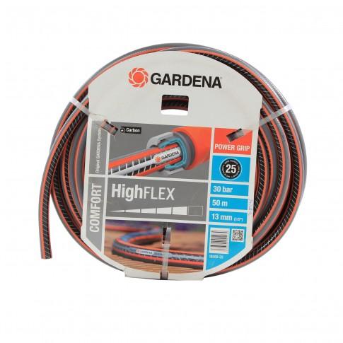 Furtun de gradina, pentru apa, Gardena High Flex Comfort 18069-20, 12.5 mm, rola 50 m