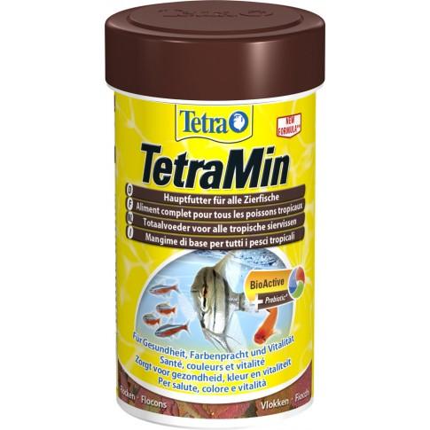 Hrana pesti TetraMin, fulgi, 100 ml