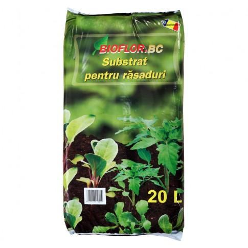 Pamant pentru rasaduri Bioflor 20 l