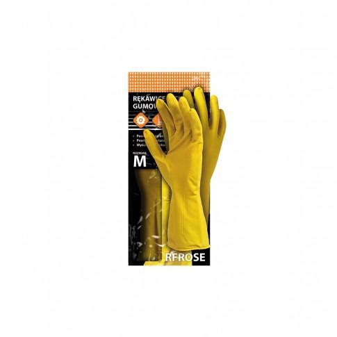 Manusi menaj Marvel 1460, marimea XL, latex, galbene, 2 buc / set