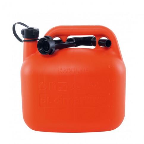 Canistra din plastic, pentru combustibil, Di Martino, 5 L + palnie