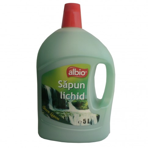 Sapun lichid Albio Green Lagoon, 5L