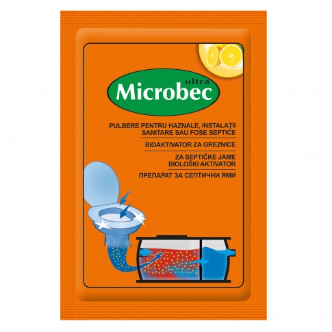 Tratament fose septice Bros Microbec, plic, 25 g