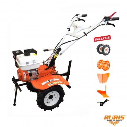 Motocultor pe benzina Ruris 710 K, 7.5 CP, 3 viteze + accesorii