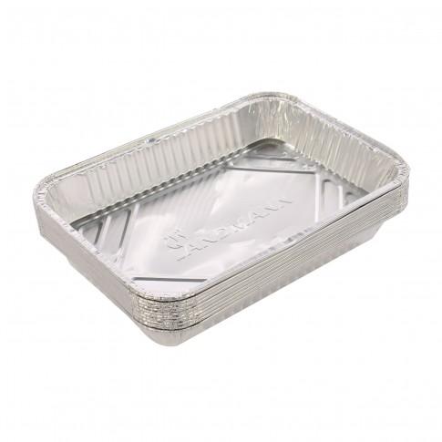Tava aluminiu pentru gratar, Landmann, 31.5 x 21.5, set 10 buc