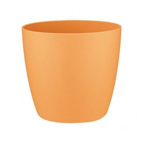 Ghiveci din plastic Brusseles mini, orange D 7 cm