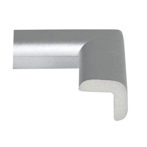 Coltar protector din spuma de cauciuc 694, subtire, argintiu, grosime 6 mm