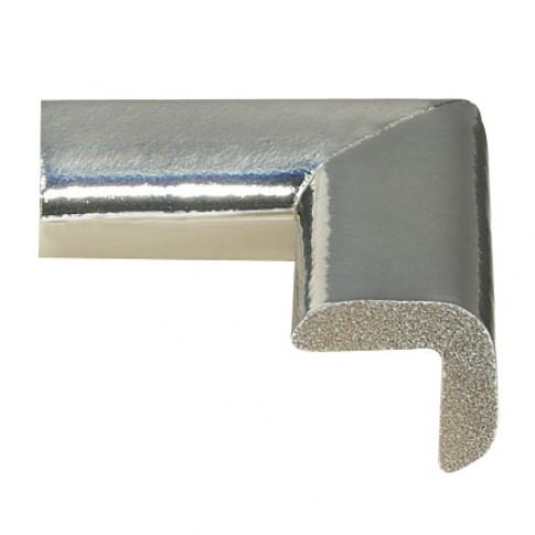 Coltar protector din spuma de cauciuc AC-106, subtire, argintiu metalizat, grosime 6 mm