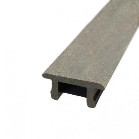 Profil WPC PI 29 x 13 x 4000 mm G P, gri