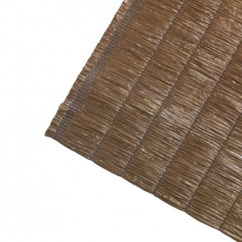 Plasa protectie vizuala Privatex, polietilena, maro, 3 x 1.5 m