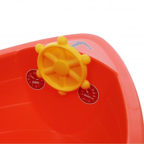 Barcuta pentru copii, plastic, diverse culori, 130 x 74 x 42.5 cm