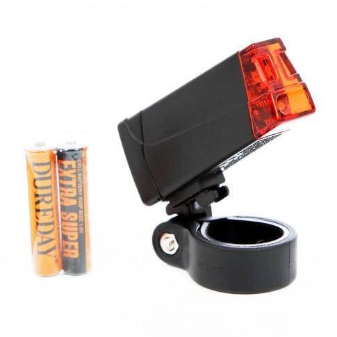 Lampa spate pentru bicicleta, led rosu, lumina continua sau intermitenta