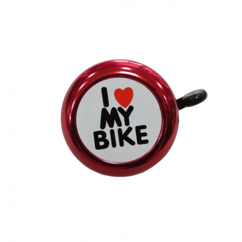 Sonerie pentru bicicleta Anuo 45AE-05, rosie