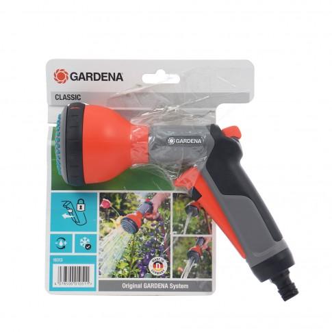 Pistol de stropit Gardena Clasic Multijet 18313-20, PVC, debit reglabil, 3 jeturi stropire