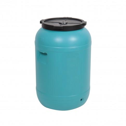 Butoi plastic Dolplast, cu capac, 120 litri