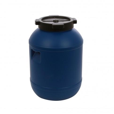 Bidon Dolplast, albastru, plastic, cu capac,  20L