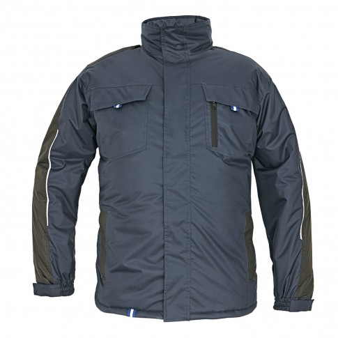 Jacheta de protectie Dalgeco Rapa, impermeabila, poliester, bleumarin, marimea XL